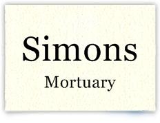 simons mortuary