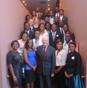 YALI 2015 With President Carter