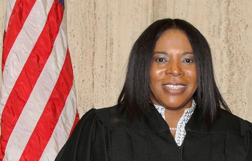 ALICIA WASHINGTON SWORN IN AS JUDGE FOR 10TH JUDICIALCIRCUIT