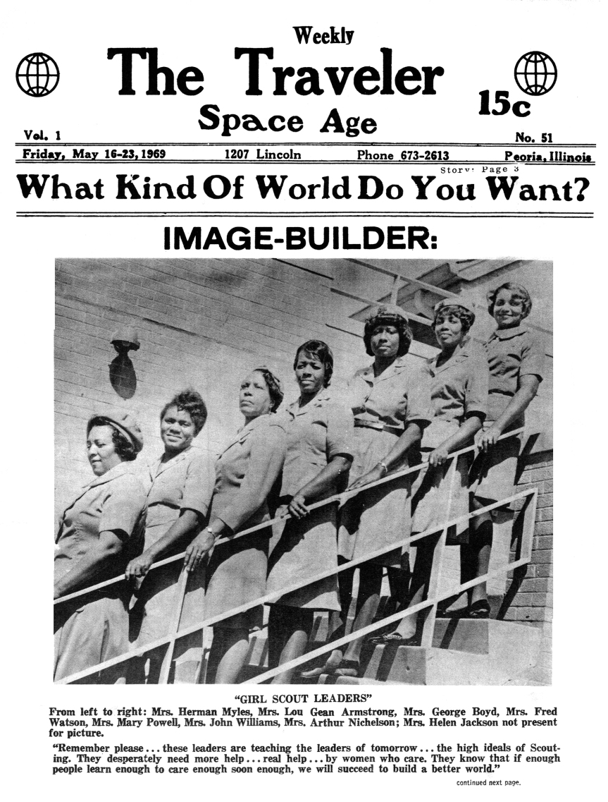 FROM THE TW ARCHIVES/ Peoria's Inner City Girl ScoutLeaders