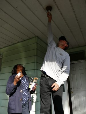 """""""Lights On 'Till Dawn"""" Program Encourages Residents to Leave Porch Lights on throughout theNight"""