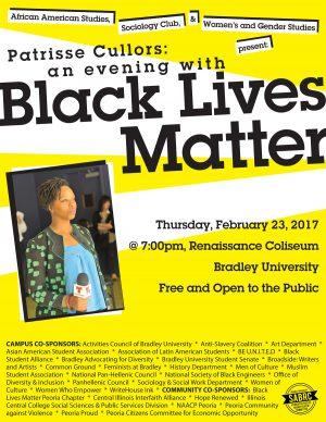 Patrisse Cullors, Black Lives Matter Co-founder, Activist to Speak at Bradley February 23,2017