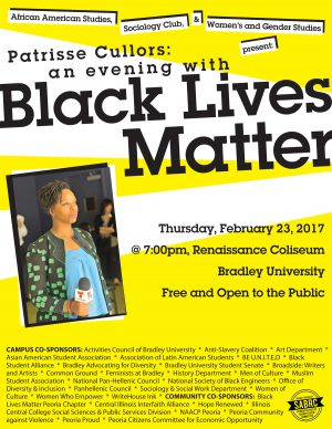 Patrisse Cullors, Black Lives Matter Co-founder, Activist to Speak at Bradley February 23, 2017