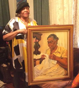lorraine-b-carter-with-painting-of-maggie-jackson-carter_1-carter-with-painting-of-maggie-jackson-carter
