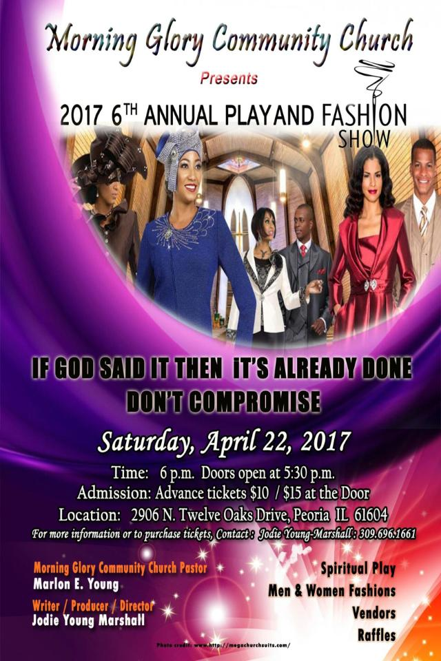 Morning Glory Community Church to Present 6th Annual Play and Fashion ...