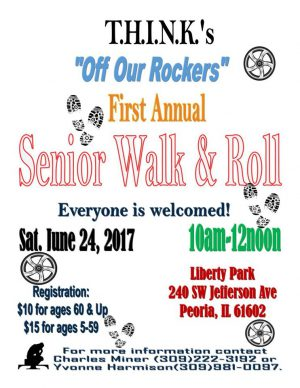 """T.H.I.N.K. Mentor Academy First Annual Senior """"Walk and Roll"""" to be held on Saturday, June 24,2017"""