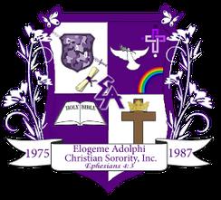 "Elogeme Adolphi Christian Sorority ""Blessed Sisterhood"" Celebrates 30th Year  July 20 – 23,2017"