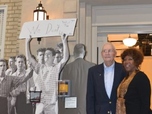 The Children's Museum remembers former U.S. Marshal Charles Burks, who protected 6-year-old Ruby Bridges