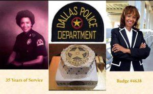 Cynthia A. Parker Ferguson Retires from Dallas Police Department  By Preston K.Gilstrap
