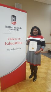 Tamara Butler Receives Membership into International Education Honor Society