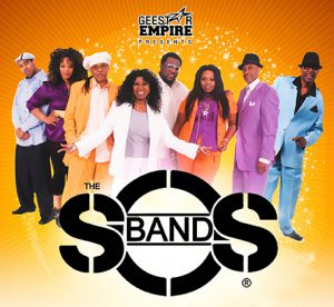 S.O.S. Band to Perform at 2018 Black & White Gala  April 28,2018