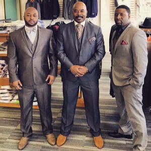 Mario Young, Marlon Young, Sr. and Marques Smith