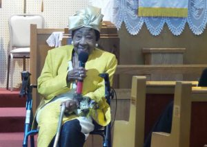 Pearly Bonds: A Living Legend Honored By Ward Chapel AMEChurch
