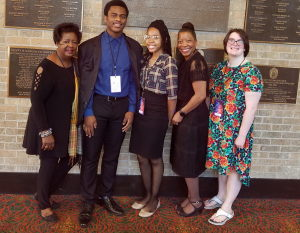"""""""3-D: A Formula for Success"""" Celebrating our Student Participation in the National NAACP ACT-SO Program By Dr. Francesca A.Armmer"""