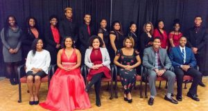 Graduating Outstanding African American Students Awarded Scholarships at AAHFM Ball