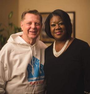 Pastor Michael Pfleger Sybrina Fulton