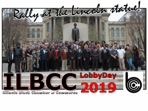 Illinois Black Chamber Kicks Off Spring #AtTheTable for LobbyDay 2019 By Lord Mic