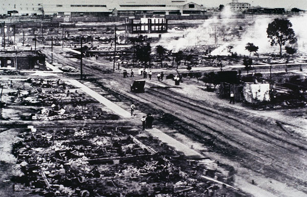 Tulsa aftermath. Jun 1,1921,By Unknown author - Unknown source, Public Domain